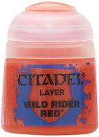 """Краска акриловая """"Citadel Layer"""" (wild rider red; 12 мл)"""