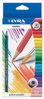 """Цветные карандаши """"OSIRIS AQUARELL"""" (12 цветов)"""