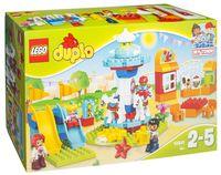 """LEGO Duplo """"Семейный парк аттракционов"""""""