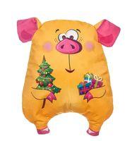 """Подарочная упаковка """"Свинка-сплюшка"""" (жёлтая)"""