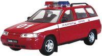 "Модель машины ""LADA 111 пожарная охрана"" (масштаб: 1/36)"