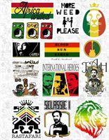 "Набор виниловых наклеек №555 ""Reggae"""