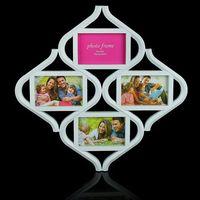 Рамка для фото пластмассовая на 4 фото (51x51 см)