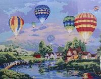 """Алмазная вышивка-мозаика """"Воздушные шары"""""""