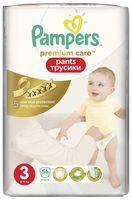 """Подгузники-трусики для детей """"Premium Care Pants"""" (6-11 кг, 56 шт)"""