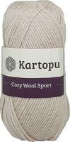 "Пряжа ""KARTOPU. Cozy Wool Sport №K855"" (100 г; 280 м; бежевый)"