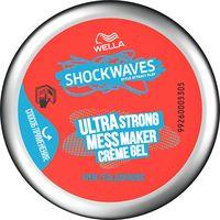 """Крем-гель для укладки волос """"Ultra Strong Mess Maker"""" суперсильной фиксации (150 мл)"""