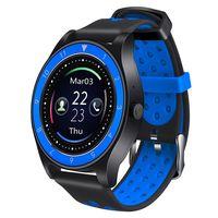 Фитнес-часы D&A F010 (черно-синие)