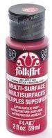 "Краска акриловая ""FolkArt Multi-Surface"" (красное яблоко, 59 мл; арт. PLD-02901)"
