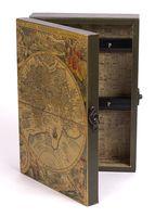 Ящик для ключей деревянный настенный (25,5х18,5х6,5 см; арт. 7790102)