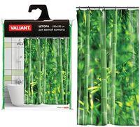 """Шторка для ванной """"Бамбуковые джунгли"""" (180х180 см)"""
