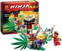 """Конструктор """"Ninja. Ловушка в джунглях"""" (58 деталей)"""