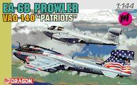 "Набор самолетов ""EA-6B Prowler VAQ-140 Patriots"" (масштаб: 1/144)"