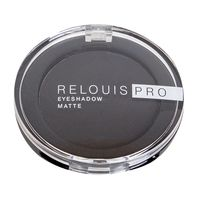 "Тени для век ""Relouis Pro Eyeshadow Matte"" (тон: 17, carbon)"