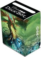 """Коробочка для карт """"Quetzalcoatl"""" (80 карт)"""