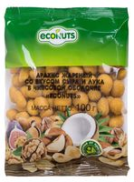 "Арахис в глазури ""Econuts. Со вкусом сыра и лука"" (100 г)"