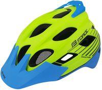 """Шлем велосипедный """"Raptor MTB"""" (салатово-синий; р. L-XL)"""
