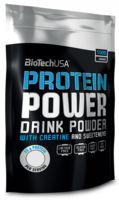 """Протеин """"Protein Power"""" (1000 г; клубника-банан)"""