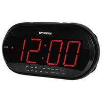 Радиобудильник Hyundai H-1543 (черный/красный)