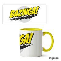 """Кружка """"Bazinga. Теория большого взрыва"""" (желтая)"""