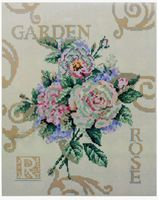 """Алмазная вышивка-мозаика """"Садовые розы"""""""