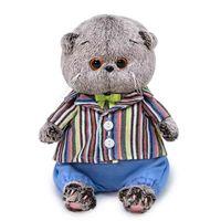 """Мягкая игрушка """"Басик BABY в полосатом пиджаке"""" (20 см)"""