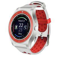 Фитнес-часы D&A F010 (бело-красные)