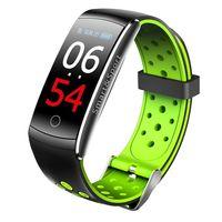 Фитнес-браслет SOVO SE12 с цветным экраном (черно-зеленый)