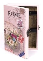 Ящик для ключей деревянный настенный (255х185х65 мм; арт. 7790123)