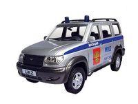 """Модель машины """"УАЗ Патриот. Полиция"""" (масштаб: 1/43)"""