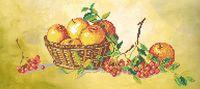 """Вышивка бисером """"Натюрморт с яблоками"""""""