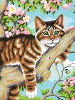 "Картина по номерам ""Ленивый кот"" (230х310 мм; арт. 91478-73-DMS)"