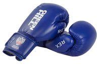 Перчатки боксерские REX BGR-2272 (10 унций; синие)