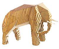 """Сборная деревянная модель """"Параметрический слон"""""""