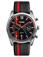 Часы наручные (чёрно-красные; арт. 9148)
