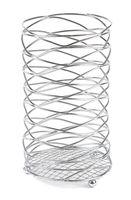 Подставка для столовых приборов металлическая (100х100х170 мм)