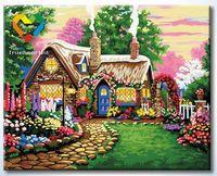 """Картина по номерам """"В гостях у сказки"""" (400x500 мм; арт. HB4050324)"""