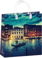 """Пакет пластиковый подарочный """"Italy"""" (30х30х10 см; арт. BAM 142)"""