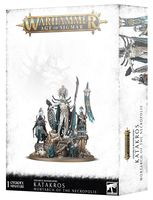 Warhammer Age of Sigmar. Ossiarch Bonereapers. Katakros Mortarch of the Necropolis (94-28)