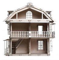 """Сборная деревянная модель """"Большой дом для кукол"""""""