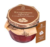 """Варенье """"Косьминский гостинец. Кедровые орехи в кедровом сиропе"""" (160 г)"""