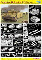 "Средний танк ""Pz.Kpfw.III Ausf.N w/Schurzen"" (масштаб: 1/35)"