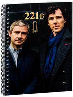 """Блокнот в клетку """"Шерлок"""" A5 (арт. 353)"""
