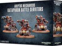 Warhammer 40.000. Adeptus Mechanicus. Kataphron Battle Servitors (59-14)