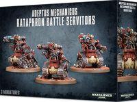 Warhammer 40.000. Adeptus Mechanicus. Kataphron Battle Servitors (59-14)