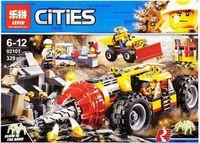 """Конструктор Cities """"Тяжёлый бур для горных работ"""""""