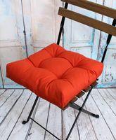"""Подушка на стул """"Monochrome"""" (40х40 см; оранжевая)"""