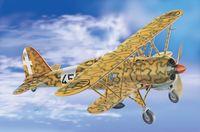 """Истребитель-бомбардировщик """"CR.42 AS Falco"""" (масштаб: 1/48)"""