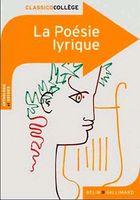 Julie Proust. La Poesie Lyrique