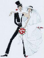 """Вышивка крестом """"Свадебное танго"""" (арт. 1179)"""